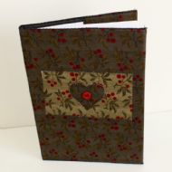 A5 Lined Notebook with Textile Cover