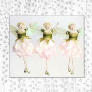 Light Pink Rosebud Fairies