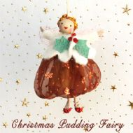 Christmas Pudding Fairy