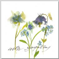Aquilegia - With Sympathy