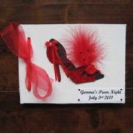 Personalised Shoe Prom or Hen Night Book