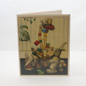 Old Bear Card - Tower