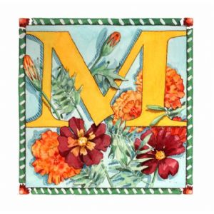 M is for Marigold