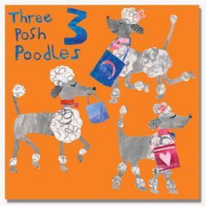 Three Posh Poodles