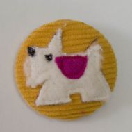 Scottie Dog Badges